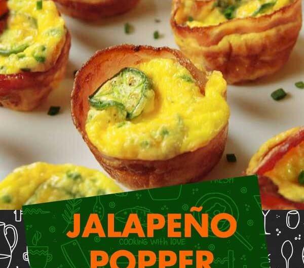 Jalapeño Popper Egg Cups