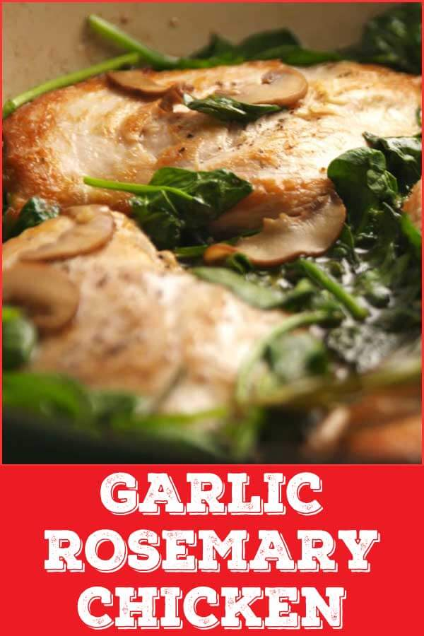 Garlic Rosemary Chicken