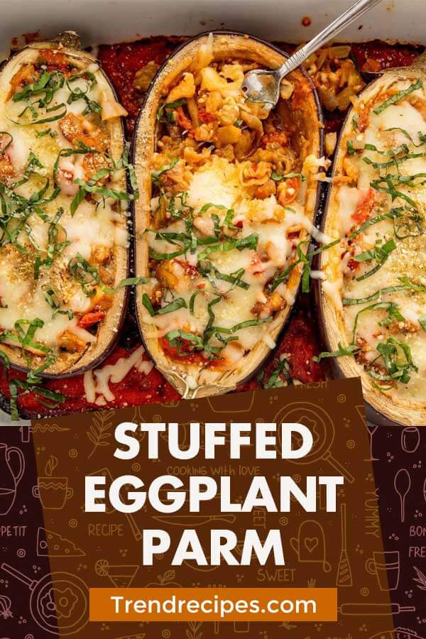 Stuffed Eggplant Parm