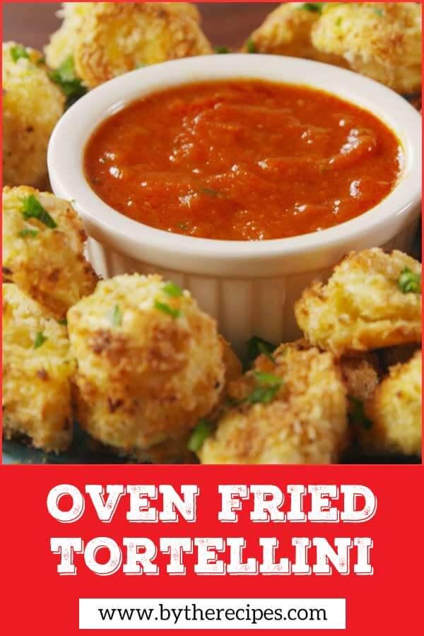 Oven Fried Tortellini